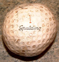 oldspaldinggolfball