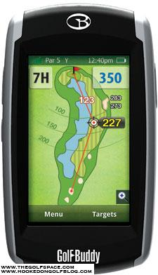 GolfBuddy Platinum GPS - Click for more images