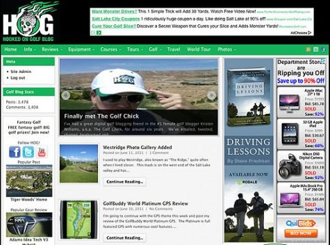 Hooked On Golf Blog
