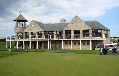 St. Andrews New Course Clubhouse
