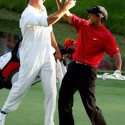 Tiger Woods and Steve Willaims