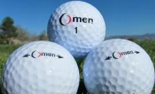 Omen Hollow Metal Core Golf Ball