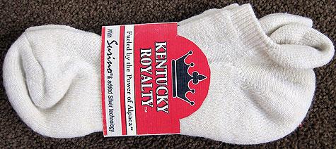 Kentucky Royalty Golf Socks