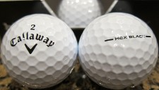 Callaway Hex Black Golf Balls