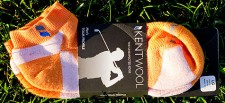 Kentwool Orange Golf Socks
