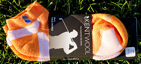 Kentwool Orange Golf Socks