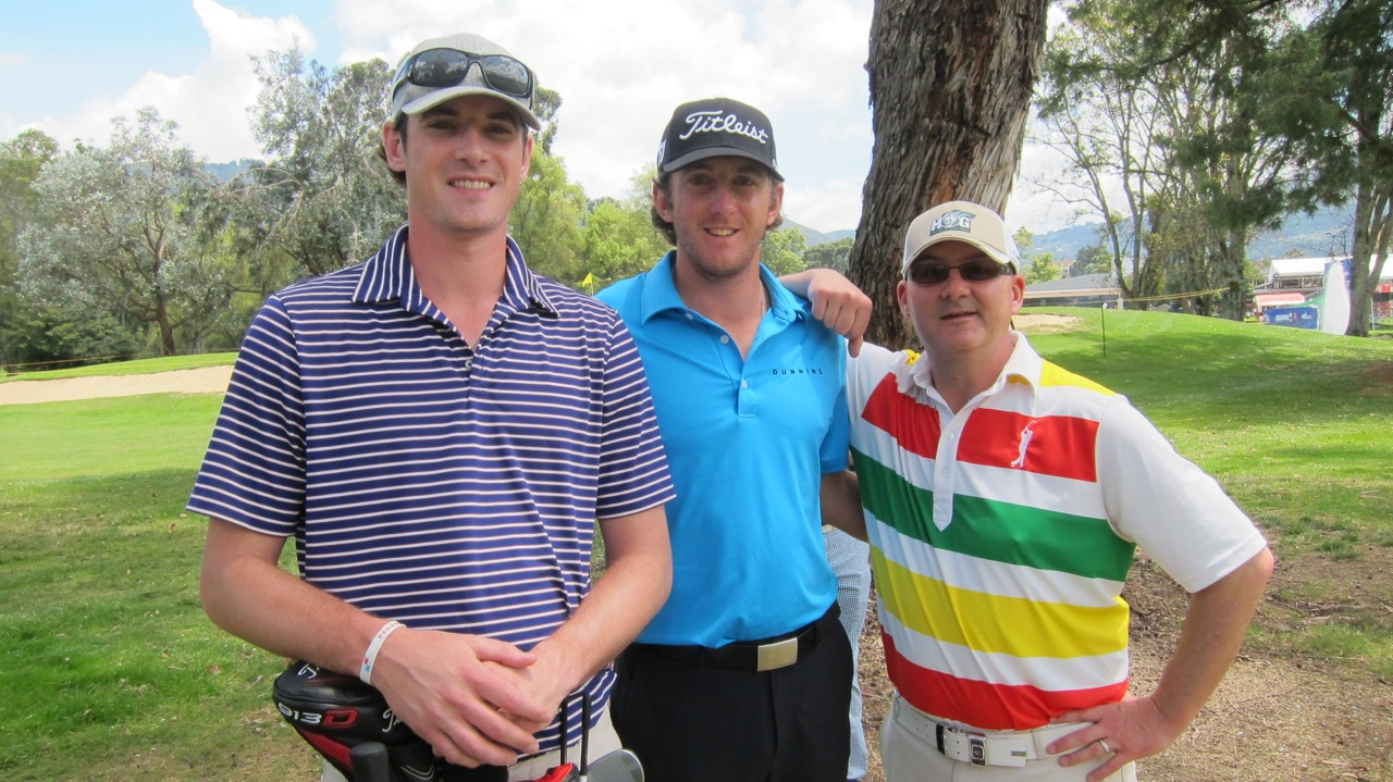 Kevin Foley (middle), Mike Foley (left), me (right)