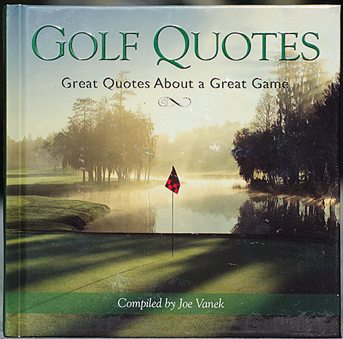Golf Quotes - click to buy