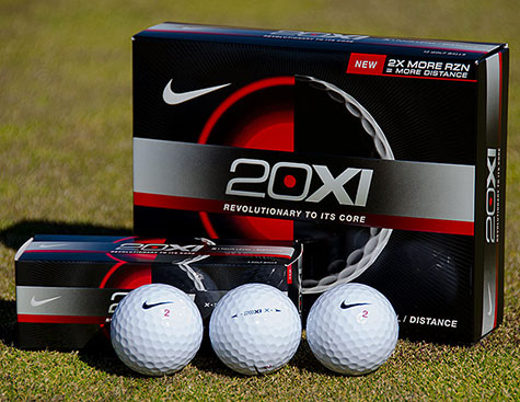 Nike 20XI X Golf Balls - click for larger image