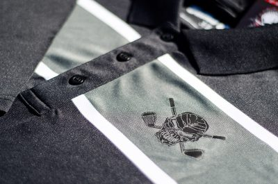 Tattoo Golf Clubhouse Collection Golf Polo