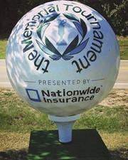 Memorial Golf Ball
