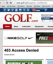 PGA Tour Confidential