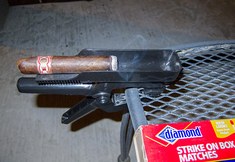 Perfecto Cigar Holder in Action!