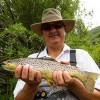 My first catch.. a brown trout...