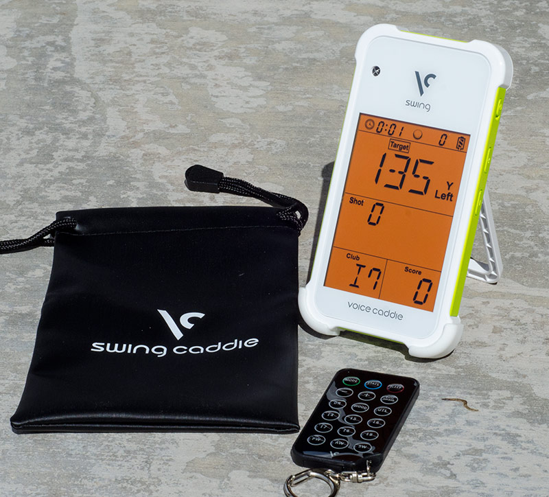 Swing Caddie SC100 Golf Launch Monitor | Hooked On Golf Blog