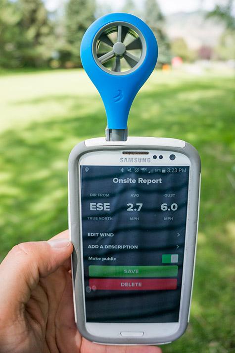 Golf Wind Meter