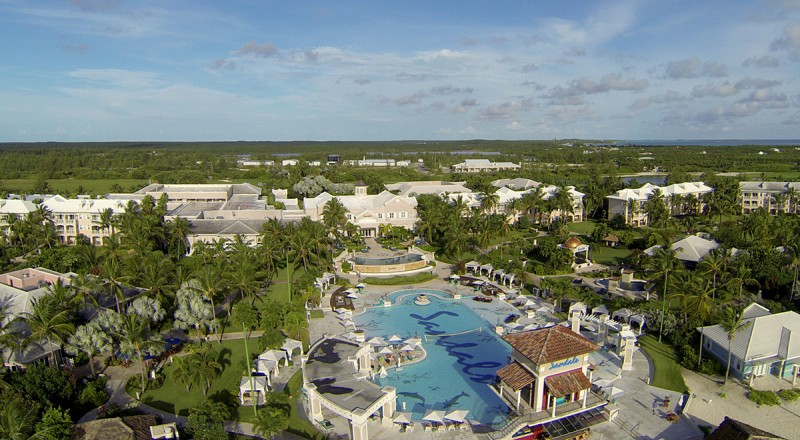 Sandals Emerald Bay From Above