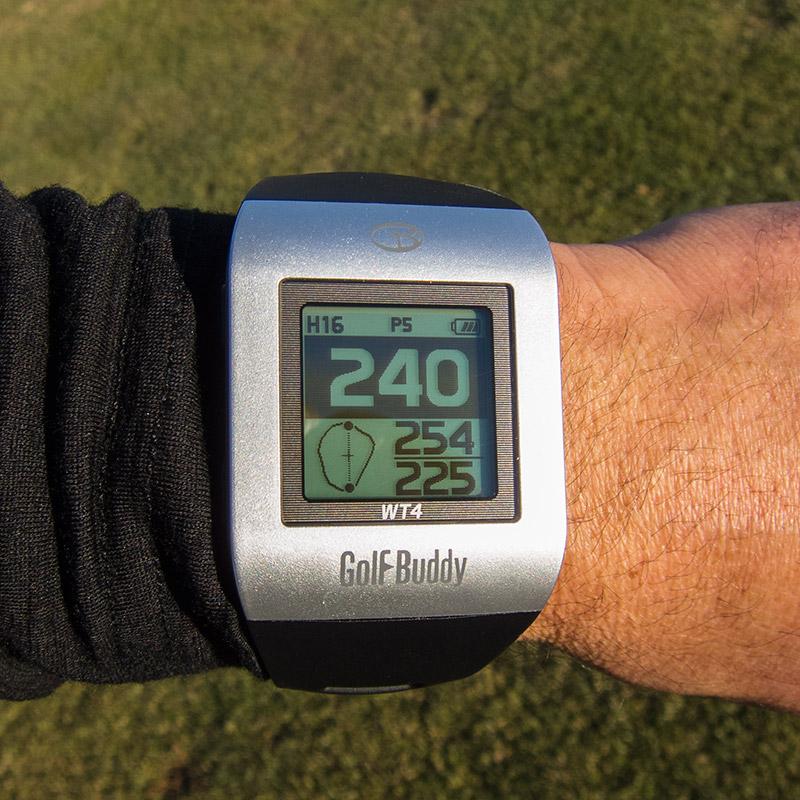 GolfBuddy WT4 Golf GPS Watch