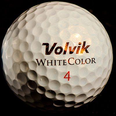 "Volvik ""White Color"" S3 Golf Ball"