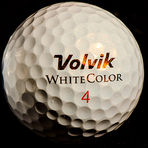 "Volvik ""White Color"" S3 Golf Ball"