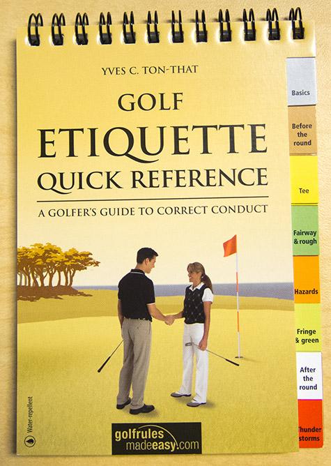 Golf Etiquette Quick Referenc