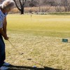 Use the no-chipping sign to hone in chipping practice