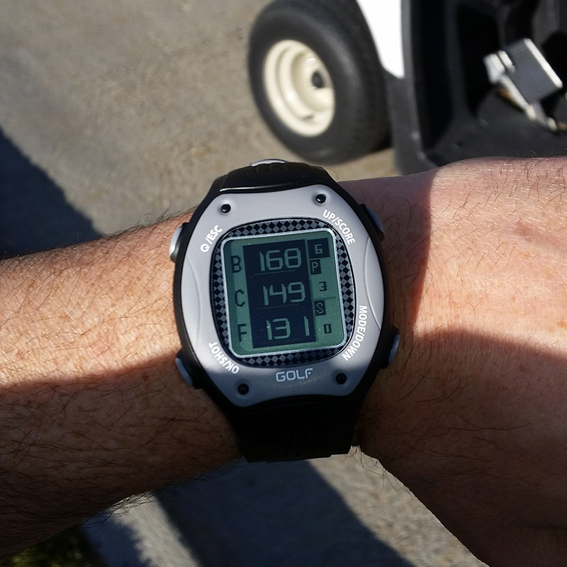 ScoreBand Golf GPS Watch - click to buy