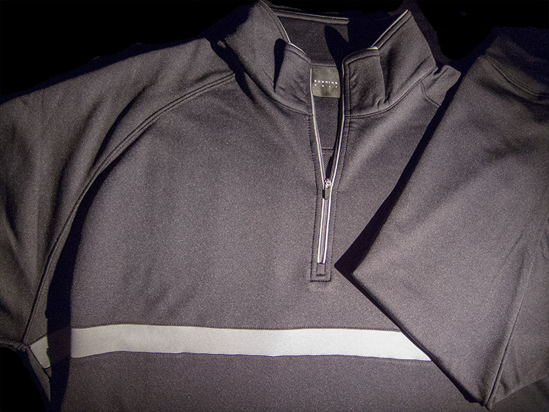 Dunning Stretch Thermal Striped 1/4 Zip