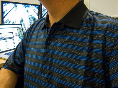 Greg Norman Weather Knit Play Dry Golf Polo