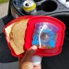 Cookie Monster Sandwich Holder