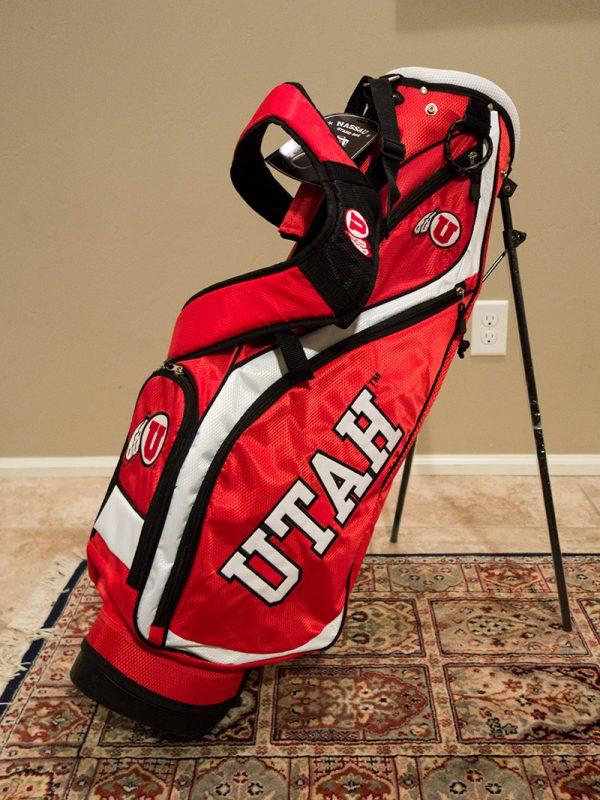 Utah Utes Golf Bag