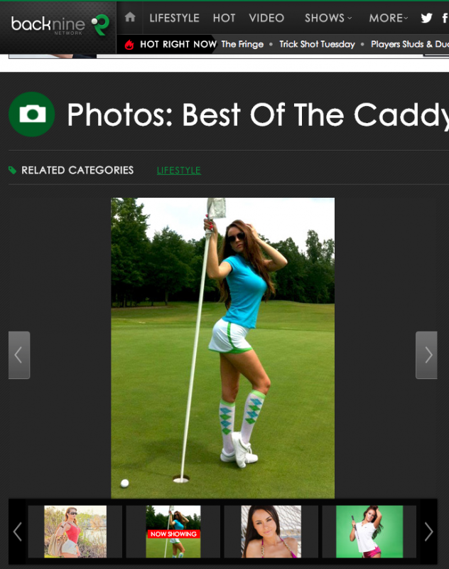 "$32 million and they don't even know how to spell ""caddie."" Facepalm..."