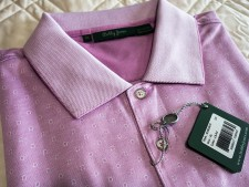 Stableford Jacqard Luxe Polo by Bobby Jones
