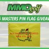 2016 Masters Pin Flag Giveaway