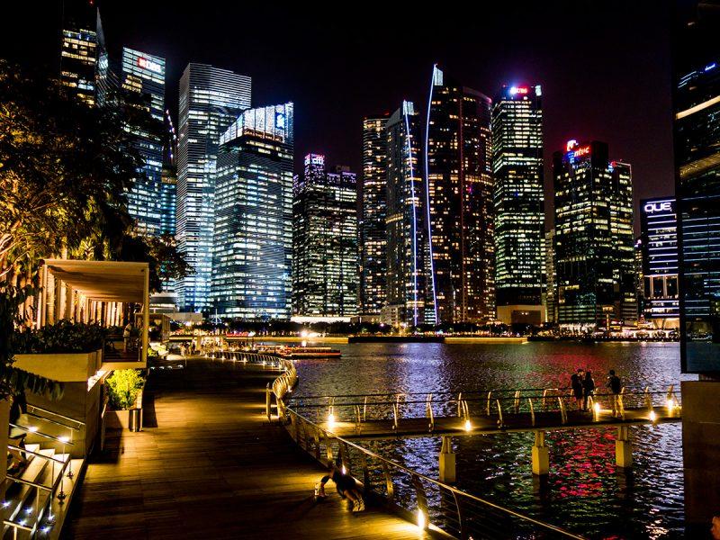 Singapore at Night - Tremendous
