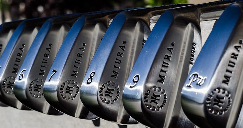 Miura Series 1957 Small Blade Irons