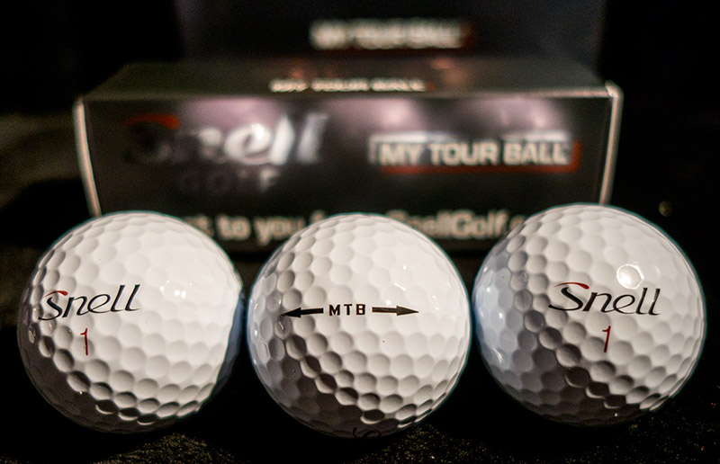 Snell MTB My Tour Golf Ball