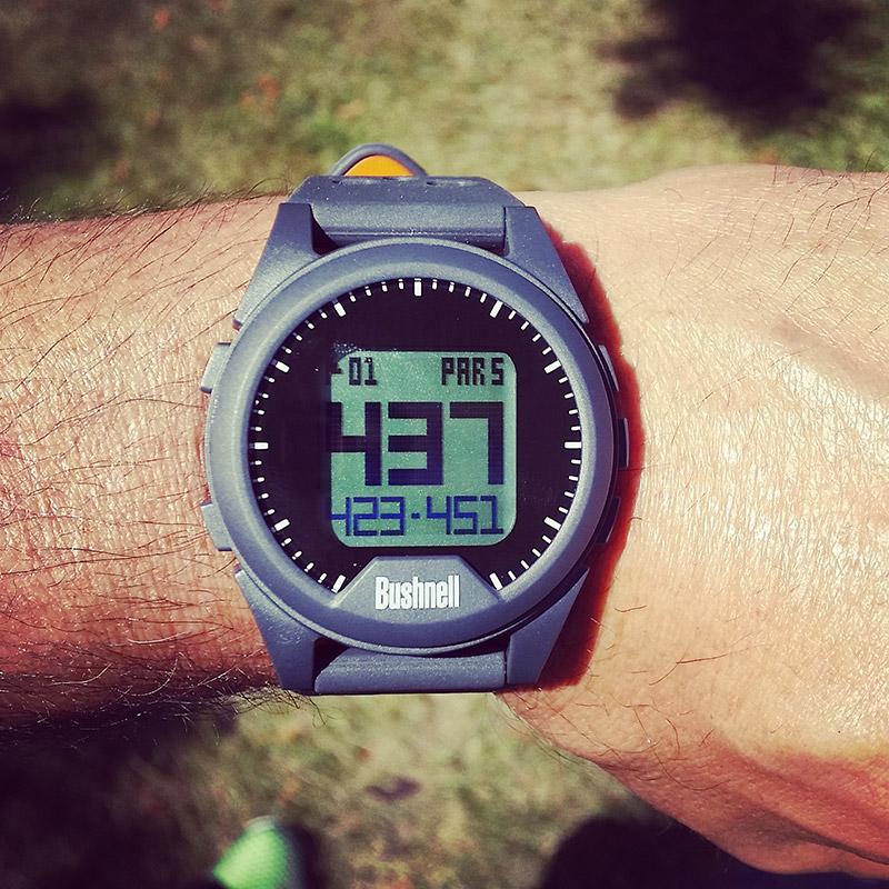 Bushnell Neo iON GPS Rangefinder Watch Father's Day Golf Gift