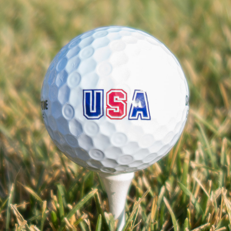 USA Golf Ball