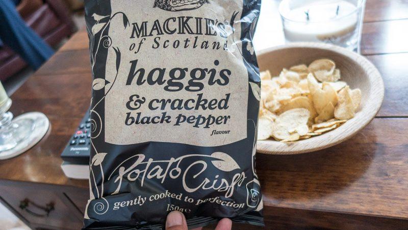 haggis-chips