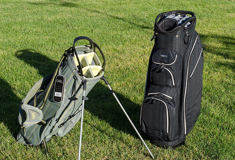 OUUL Python Golf Bags - Stand bag and cart bag