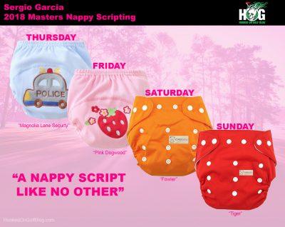 Sergio Garcia Masters Nappy Scripting