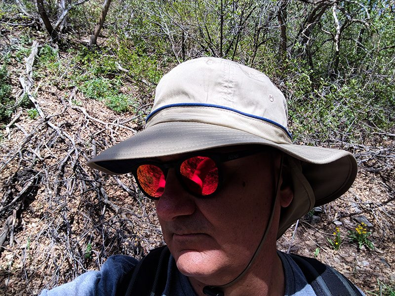 9c7559f74d3 The Wallaroo Shelton is great for hiking…. Shelton Sun Protection Hat