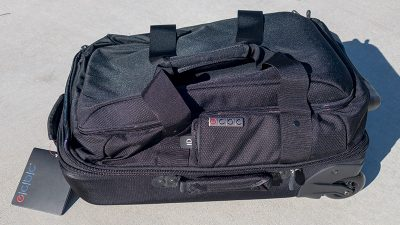 ec-bc Falcon Rolling Duffle Carry-On Bag