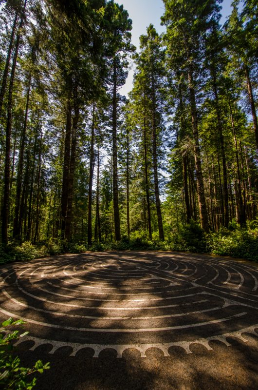 Bandon Dunes Labyrinth