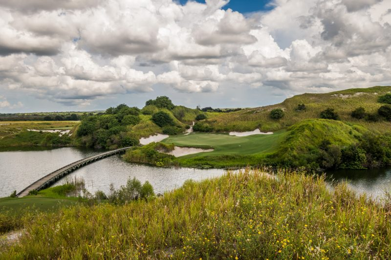 Streamsong Blue Course - Pare-3 7th Hole