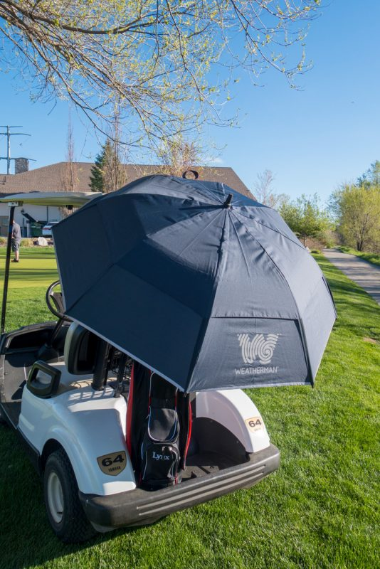 5088237ed Weatherman Golf Umbrella Review | Hooked On Golf Blog