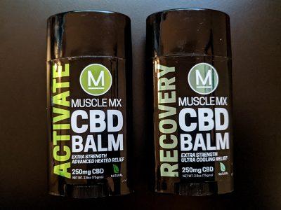 MuscleMX CBD Balm