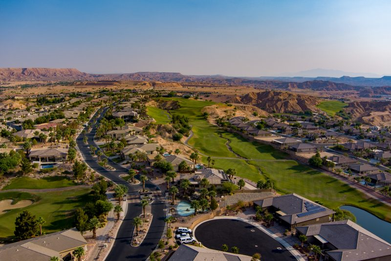 Falcon Ridge Golf Course Aerial Photo by Tony Korologos - © Copyright 2020