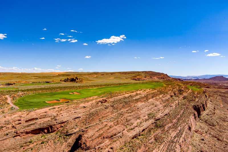 Sand Hollow Golf Course Aerial Photo